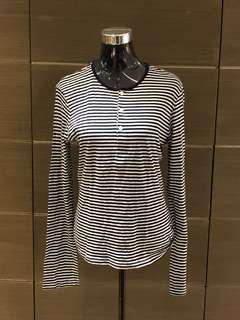 H&M Stripe Sweatshirt