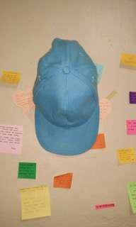 Baseball Cap / Topi Baseball Biru Muda