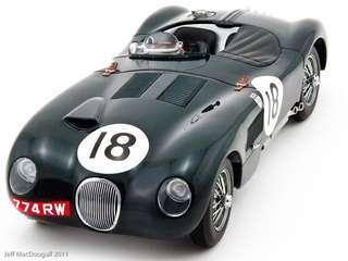 Auto art C type Jaguar Le Mans 1:18 rare