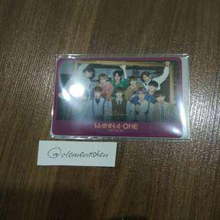 Wanna One Nothing Without You Official iPass 一卡通 Limited Edition