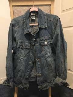 Denim jacket disney's jack skellington