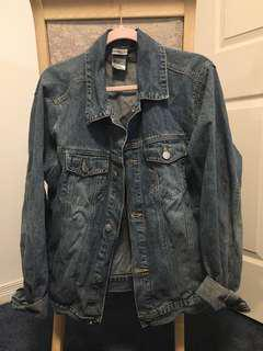 Denim jacket disney's jack skellington