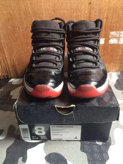 Jordan 11 Breds 2012 retro size 8 Nike Kobe kyrie