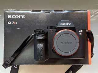 Sony A7R II + 1 additional battery