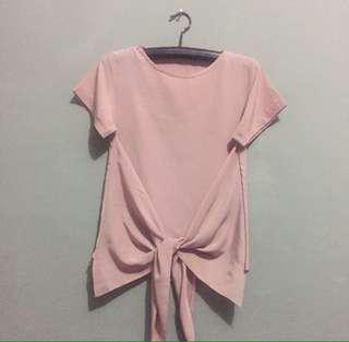 Blouse dusty pink