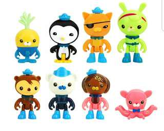 Octonauts cake toppers/ Figurine/toy/Display/miniature