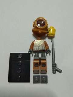 Lego Minifigure series 8 diver