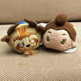 Disney Beauty & the Beast Mini Tsum Plush Couple [Last Stock]