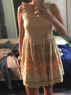 Casual Summer Dress Girls L or Womens 8