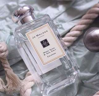 Jo Malone Wood sage and sea salt 😍