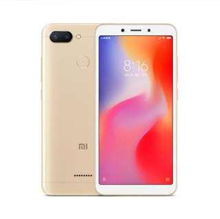 XiaoMi Redmi 6 32GB ROM 3GB RAM smart phone