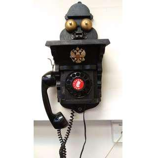 Russian Wall Phone Working Condition