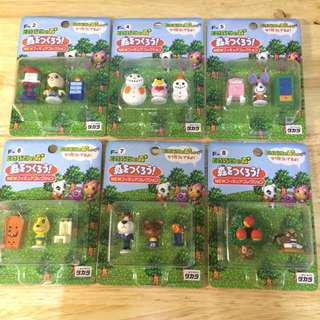 Animal Crossing Let's Build a Town! Figure Collection Series