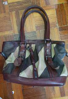 Authentic Burberry Satchel Bag