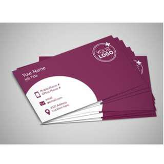 Customized Business / Name Card Printing