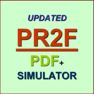 PR2F PRINCE2 Foundation Exam QA PDF+Simulator