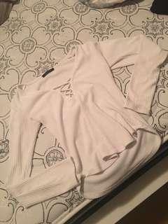 Revamped cris cross shirt!