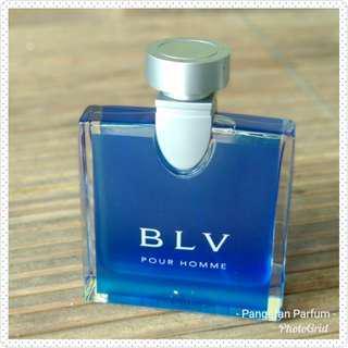 Parfum Bvlgari BLV Man Pour Homme EDT 50ml 200k Original Rejected