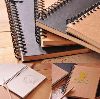 D.i.y spiral notebook