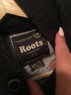 Roots salt and pepper hoodie!