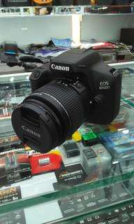 Kredit kamera dslr terbaru Canon 4000d kuyy bisa disini aja