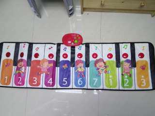 電子琴面布板 #兒童#益智