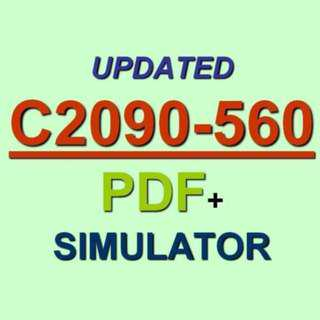 Latest IBM C2090-560 Verified Practice Test Exam QA PDF+Simulator