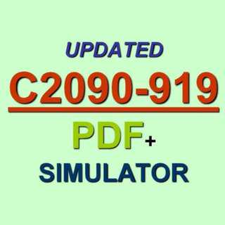 Latest IBM C2090-919 Verified Practice Test Exam QA PDF+Simulator