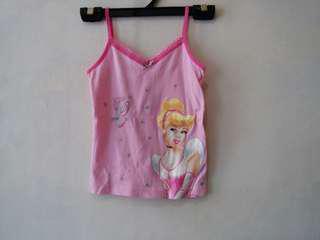 Disney Princess kids girl camisole top 迪士尼公主女童吊帶背心