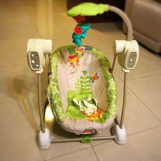 Price reduced: Fisher Price Automatic rocker and swing