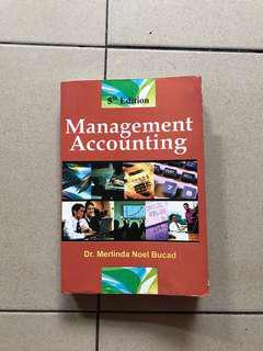 Management Accounting by Dr. Merlinda Noel Bucad