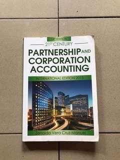 Partnership and Corporate Accounting by Zenaida Vera Cruz-Manuel