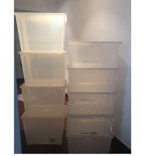 Ikea Samla Boxes with Lids - all for $100