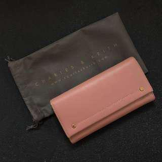 Preloved Authentic Charles & Keith Stud Wallet