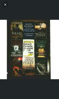 Books 1 for 10/ 3 for 25
