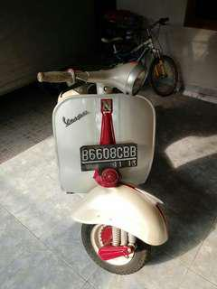 Vespa VBB 1962 Original Body, Engine, Accecories
