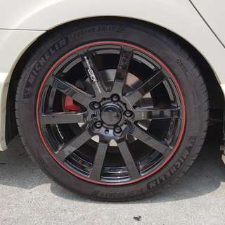 """Michelin PS4 17"""" Tyres"""