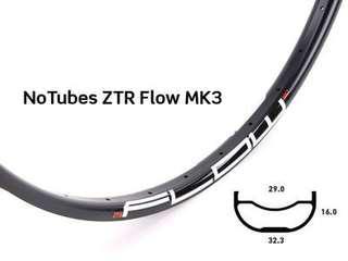 """ZTR Flow MK3 rims (26"""") Pair"""