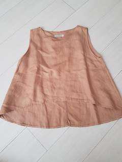 Nudy Mellow asymetric blouse