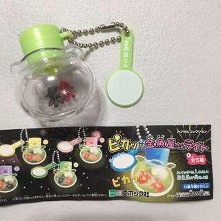 金魚屋 capsule gashpon 扭蛋 電話繩 手機繩 匙扣 配飾 掛飾