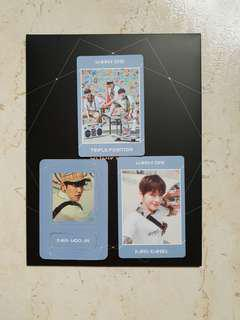 WTS undivided TRIPLE POSITION members sets instock