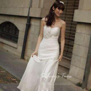 Wedding Gown Mermaid style (white)