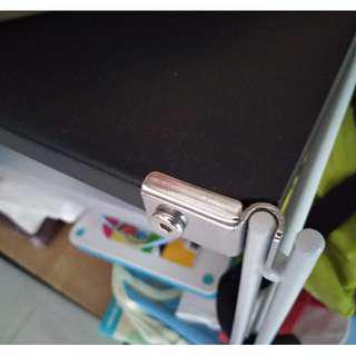 (二手 議價) 日本 MUJI 無印良品 SUS 鋼製 深灰黑 不銹鋼 層架 寬84×深41×高83cm 書架 書櫃