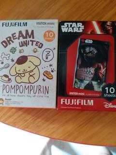 即影即有相紙fujifilm,40元一盒