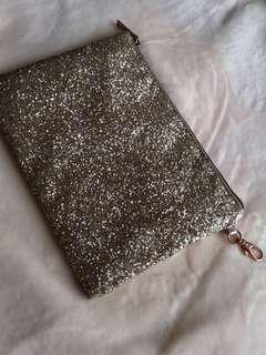 Promod gold purse