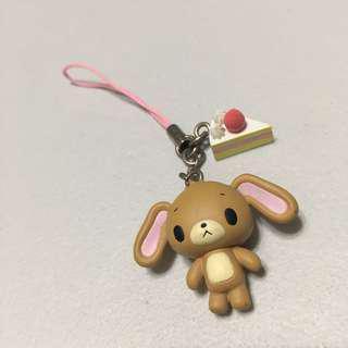 Sanrio shirousa kirousa capsule gashpon 扭蛋 電話繩 手機繩 匙扣 配飾 掛飾