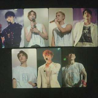 GOT7 FLY IN SEOUL FINAL DVD Photocards
