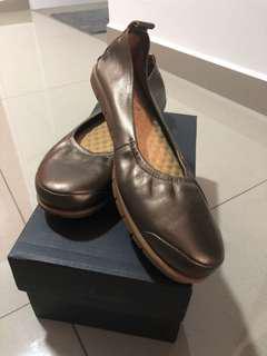 Barani Leather Flats