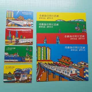 港鐵35週年 紀念車票