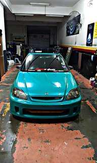 Honda Civic Ek4Door B16B TYPE R